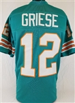 Bob Griese Miami Dolphins Custom Home Jersey Mens Large