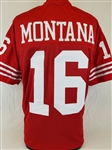 Joe Montana San Francisco 49ers Custom Home Jersey Mens 3XL