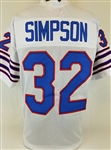 O.J. Simpson Buffalo Bills Custom Away Jersey Mens XL