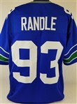 John Randle Seattle Seahawks Custom Home Jersey Mens 3XL