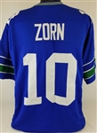 Jim Zorn Seattle Seahawks Custom Home Jersey Mens 3XL