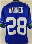 Curt Warner Seattle Seahawks Custom Home Jersey Mens 3XL