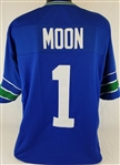 Warren Moon Seattle Seahawks Custom Home Jersey Mens 3XL