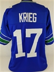 Dave Krieg Seattle Seahawks Custom Home Jersey Mens 3XL