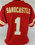 Leon Sandcastle Kansas City Chiefs Custom Home Jersey Mens XL