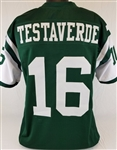 Vinny Testaverde New York Jets Custom Home Jersey Mens 2XL