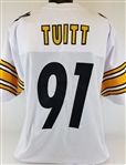 Stephon Tuitt Pittsburgh Steelers Custom Away Jersey Mens 2XL