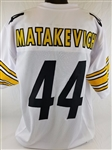 Tyler Matakevich Pittsburgh Steelers Custom Away Jersey Mens 2XL