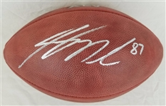 Jordy Nelson Packers Signed Official Super Bowl XLV Football JSA Witness COA