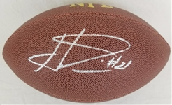 Haha Clinton-Dix Signed Wilson NFL Football JSA Witness Autograph #WP507387