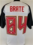 Cameron Brate Buccaneers Signed Jersey JSA Witness Auto Autograph #WP593104