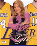 Jeanie Buss Signed Los Angeles Lakers 8x10 Photo Auto Autograph PSA/DNA #W10516