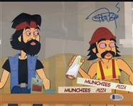 Tommy Chong Signed Cheech & Chong 8x10 Photo Auto Autograph Beckett BAS #C23624