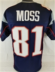 Randy Moss New England Patriots Custom Home Jersey Mens 3XL
