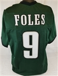 Nick Foles Philadelphia Eagles Custom Home Jersey Mens 3XL