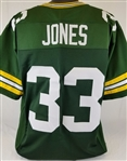 Aaron Jones Green Bay Packers Custom Home Jersey Mens 3XL