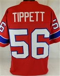 Andre Tippett New England Patriots Custom Alternate Jersey Mens 3XL