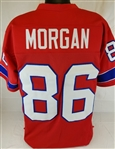 Stanley Morgan New England Patriots Custom Alternate Jersey Mens 3XL