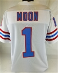 Warren Moon Houston Oilers Custom Away Jersey Mens Large