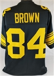 Antonio Brown Pittsburgh Steelers Custom Color Rush Jersey Mens Large