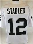 Ken Stabler Oakland Raiders Custom Away Jersey Mens 3XL