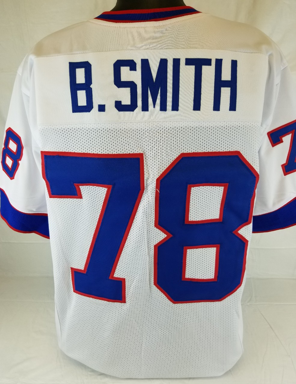 ba15d1c93ea Item Detail - Bruce Smith Buffalo Bills Custom Away Jersey Mens Large