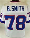 Bruce Smith Buffalo Bills Custom Away Jersey Mens 3XL