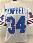 Earl Campbell Houston Oilers Custom Away Jersey Mens Large