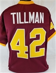 Pat Tillman Arizona State Sun Devils Custom Maroon Football Jersey Mens 3XL