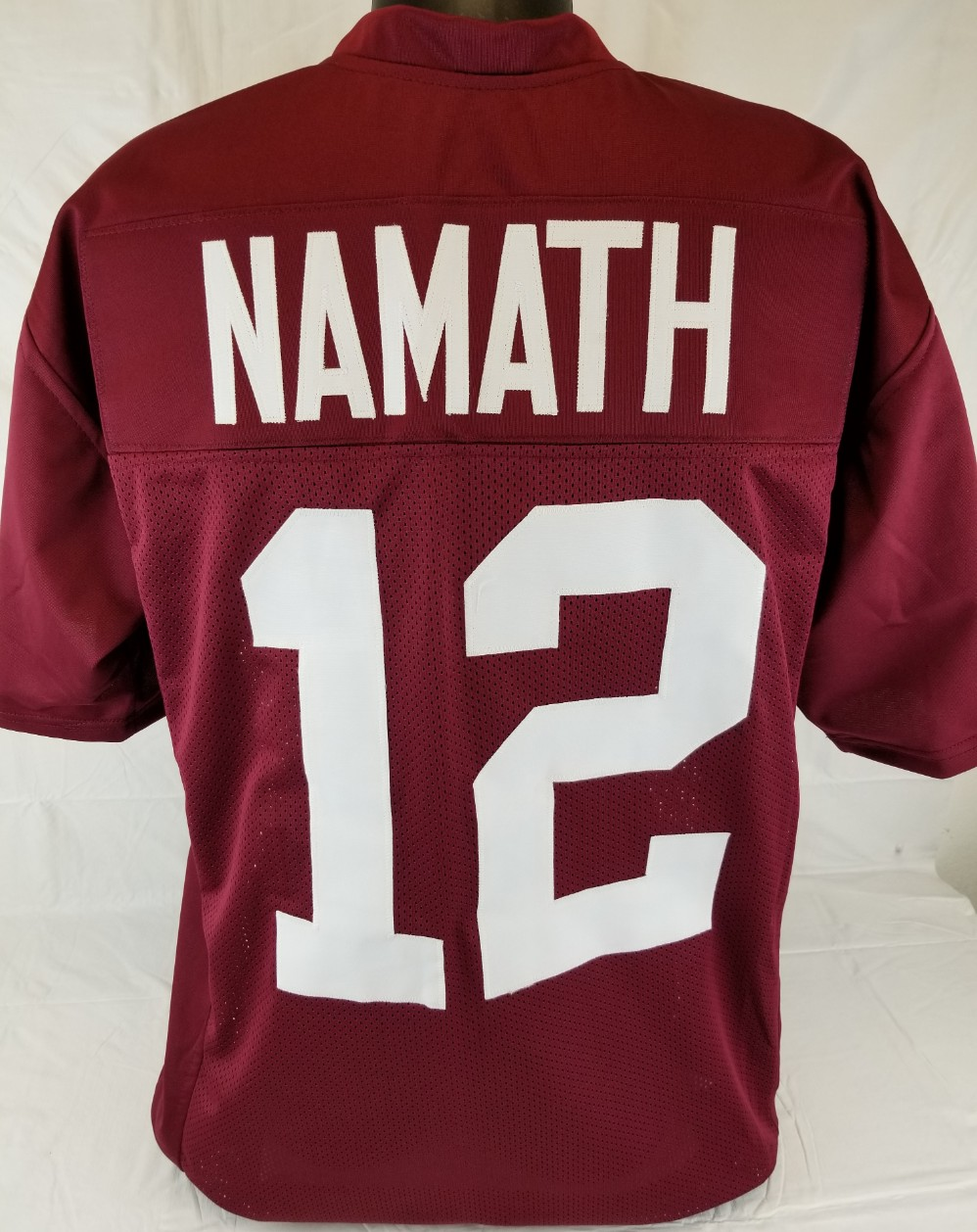 pretty nice b7fe8 ba259 Item Detail - Joe Namath Alabama Crimson Tide Custom Crimson ...