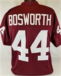 Brian Bosworth Oklahoma Sooners Custom Crimson Football Jersey Mens 2XL