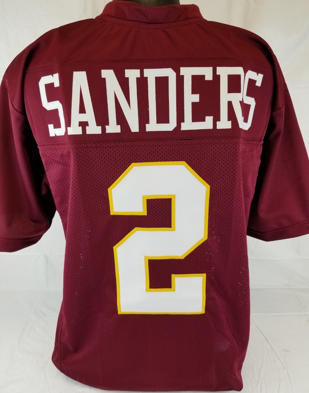 sports shoes 3da9e b2065 authentic deion sanders florida state jersey
