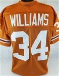 Ricky Williams Texas Longhorns Custom Orange Football Jersey Mens 2XL