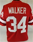 Herschel Walker Georgia Bulldogs Custom Red Football Jersey Mens 2XL