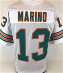 Dan Marino Miami Dolphins Custom Away Jersey Mens Large
