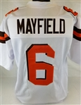 Baker Mayfield Cleveland Browns Custom Away Jersey Mens 3XL