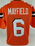 Baker Mayfield Cleveland Browns Custom Alternate Jersey Mens 3XL