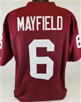 Baker Mayfield Oklahoma Sooners Custom Home Jersey Mens Large